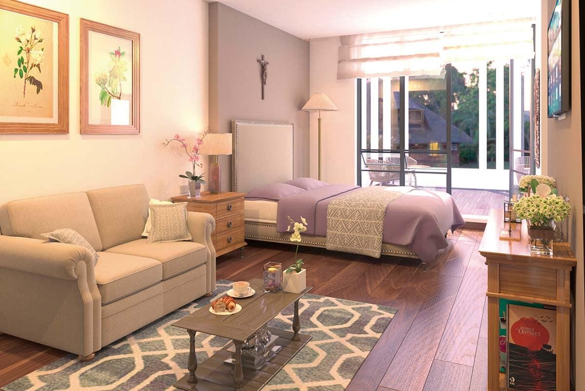 Caluce servicios Apartamentos y habitaciones con bano privado