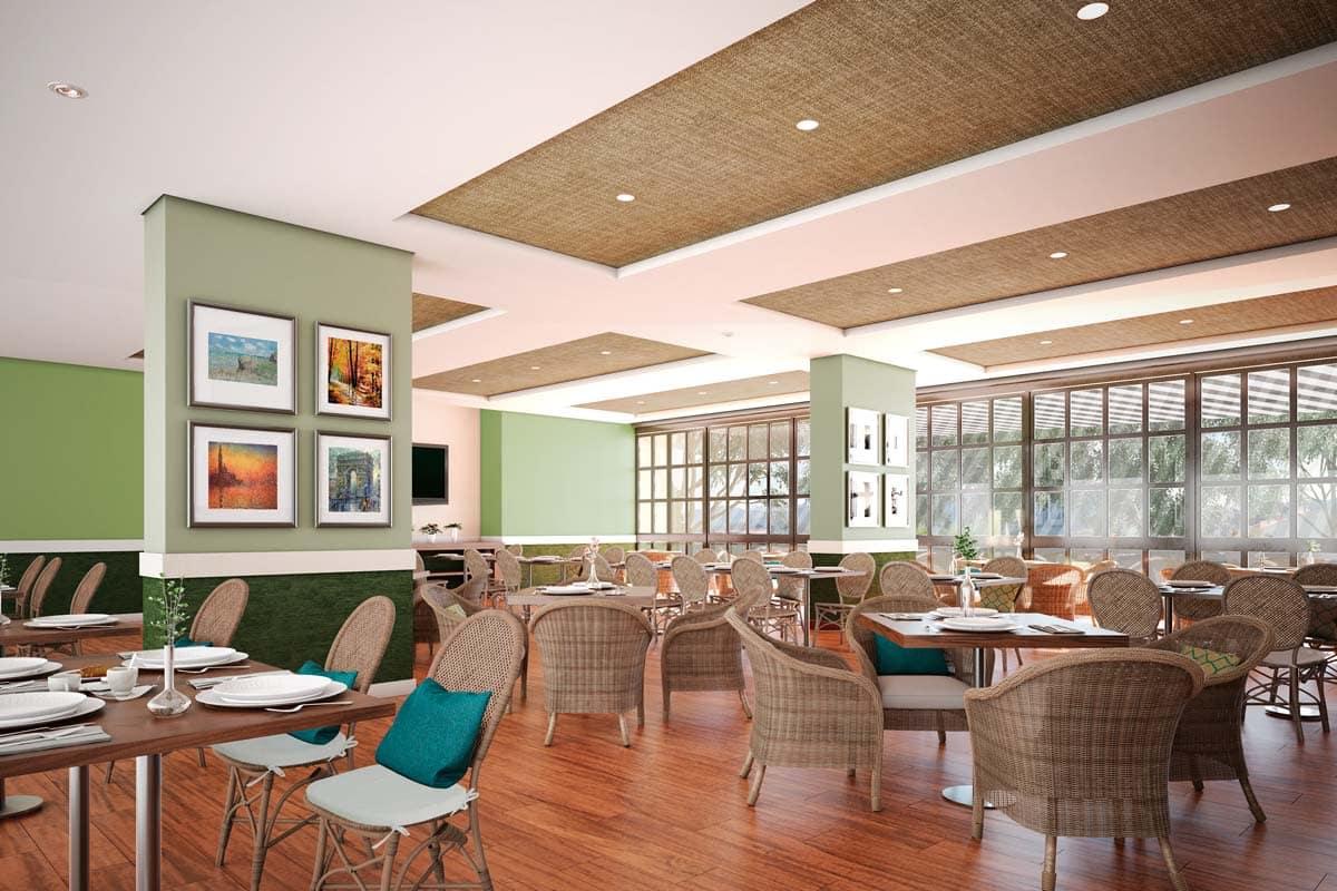 Caluce servicios Restaurante con terraza